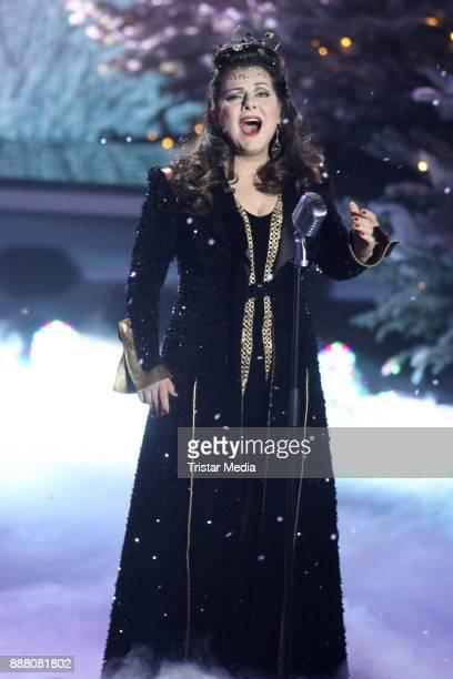 Marianne Rosenberg during the charity christmas gala 'Die schoensten Weinachtshits' on December 7 2017 in Munich Germany