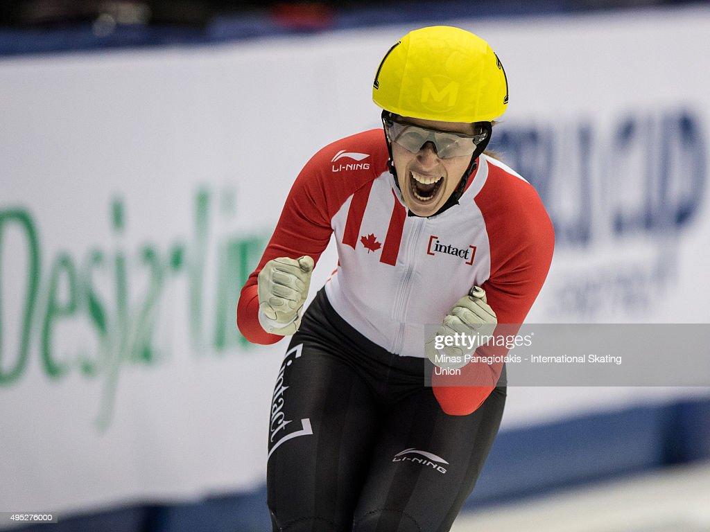 ISU World Cup Short Track Montreal - Day 2 : News Photo