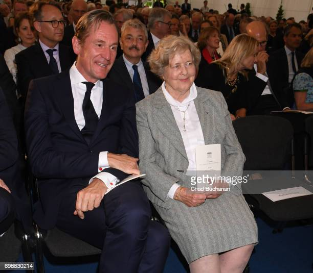 Marianne von Weizsaecker seen during the 2017 Henry A Kissinger Prize at the American Academy in Berlin on June 20 2017 in Berlin Germany