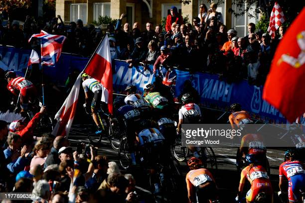 Marianne Vos of The Netherlands / Mavi Garcia Canellas of Spain / Lucinda Brand of The Netherlands / Arlenis Sierra of Cuba / Lisa Klein of Germany /...