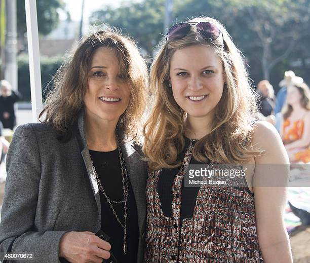 Marianne Williamson and daughter India Williamson attend the Venetian Garden Raising Party Fundraiser Benefiting Kiss The Ground on December 6 2014...