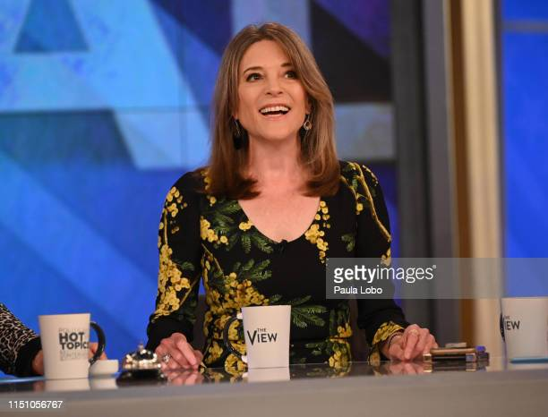 """Marianne Williamson and Nik Wallenda are today's guests on ABC's """"The View."""" """"The View"""" airs M-F on ABC. MARIANNE WILLIAMSON"""