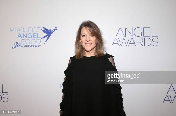 Marianne Williamson attends Project Angel Food's Angel Awards Gala at Project Angel Food on September 14, 2019 in Los Angeles, California.