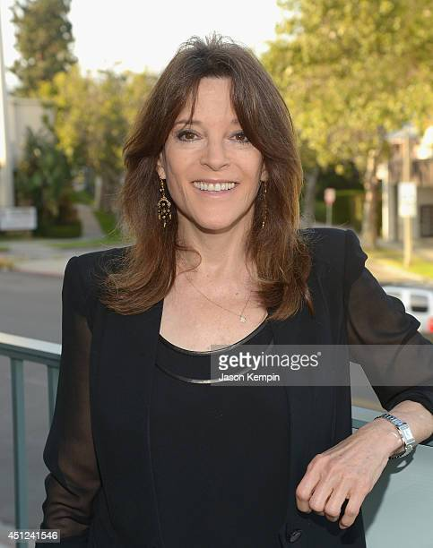 Marianne Williamson attends the Farrah Fawcett 5th Anniversary Reception at the Farrah Fawcett Foundation on June 25, 2014 in Beverly Hills,...
