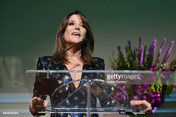Marianne Williamson attends the Project Angel Food's Angel Awards 2015, Honoring Marianne Williamson & Founding Team as well as Entertainment...