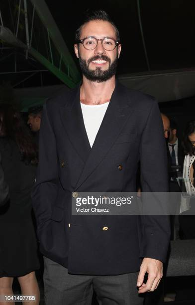 Mariano Aguirre attends the Nespresso Vertuo launch on September 26 2018 at Piacere in Mexico City Mexico