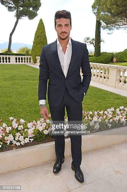 Mariano Di Vaio arrives at amfAR's 22nd Cinema Against AIDS Gala Presented By Bold Films And Harry Winston at Hotel du CapEdenRoc on May 21 2015 in...