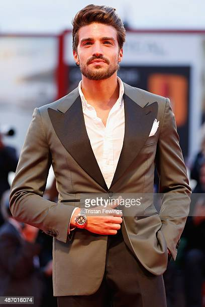 Mariano di Vaio attends a premiere for 'The Danish Girl' during the 72nd Venice Film Festival on September 5 2015 in Venice Italy