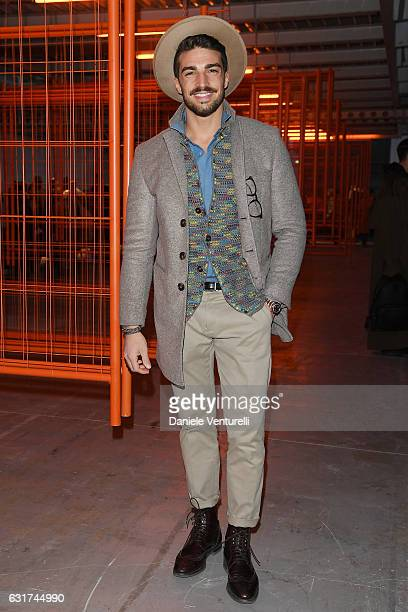 Mariano Di Vaio attends the Missoni show during Milan Men's Fashion Week Fall/Winter 2017/18 on January 15 2017 in Milan Italy