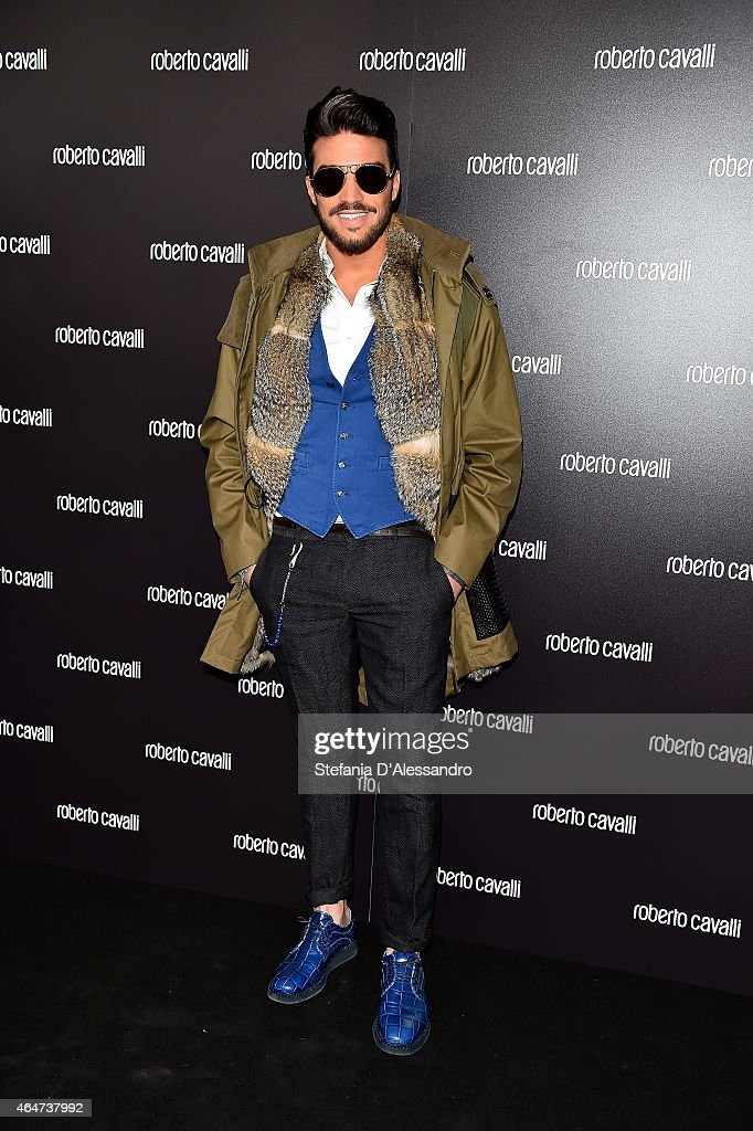 Mariano Di Vaio attends the Roberto Cavalli show during the Milan Fashion Week Autumn/Winter 2015 on February 28, 2015 in Milan, Italy.