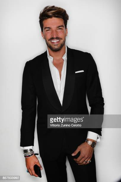 Mariano Di Vaio poses for a portrait during amfAR Gala Milano on September 21 2017 in Milan Italy