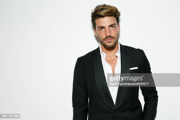 Mariano Di Vaio walks the red carpet at the amfAR Gala Milano on September 21 2017 in Milan Italy