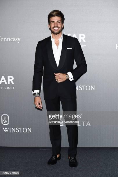 Mariano Di Vaio walks the red carpet of amfAR Gala Milano on September 21 2017 in Milan Italy
