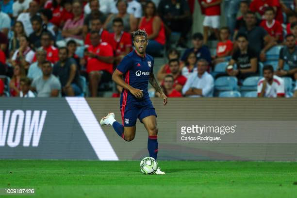 Mariano Diaz from Lyon during the match between SL Benfica v Lyon for the International Champions Cup Eusebio Cup 2018 at Estadio do Algarve on...