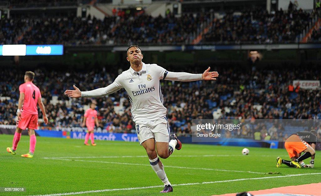 Real Madrid v Cultural Leonesa - Copa del Rey : News Photo