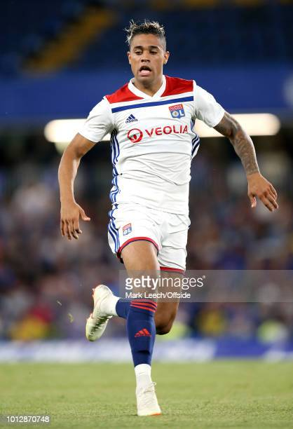 Mariano Diaz of Lyon during the International Champions Cup match between Chelsea and Olympique Lyonnais at Stamford Bridge on August 7 2018 in...