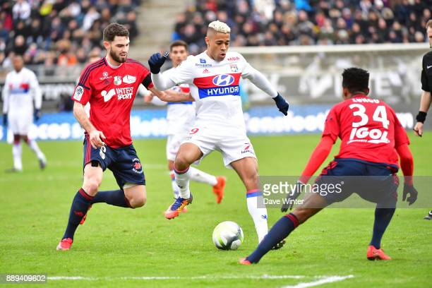 Mariano Diaz of Lyon during the Ligue 1 match between Amiens SC and Olympique Lyonnais at Stade de la Licorne on December 10 2017 in Amiens France