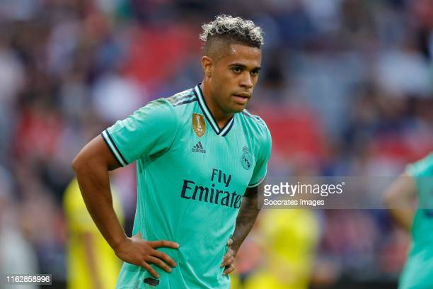 Mariano Diaz of Real Madrid during the Audi Cup match between Real Madrid v Fenerbahce at the Allianz Arena on July 31, 2019 in Munich Germany