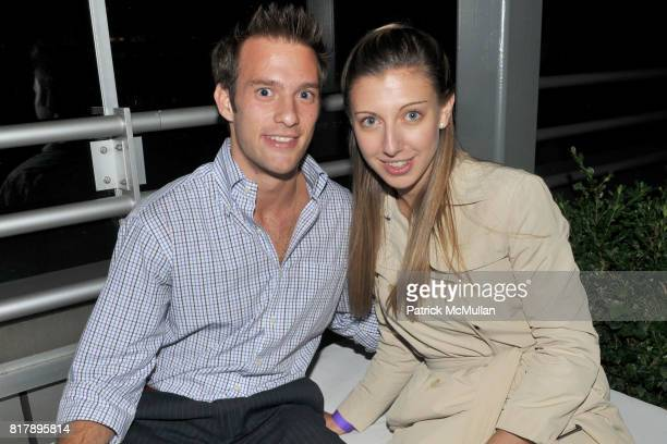 Mariano Harari and Jackie Marino attend ASSOCIATION to BENEFIT CHILDREN Junior Committee Fundraiser at Gansevoort Hotel on September 14 2010 in New...