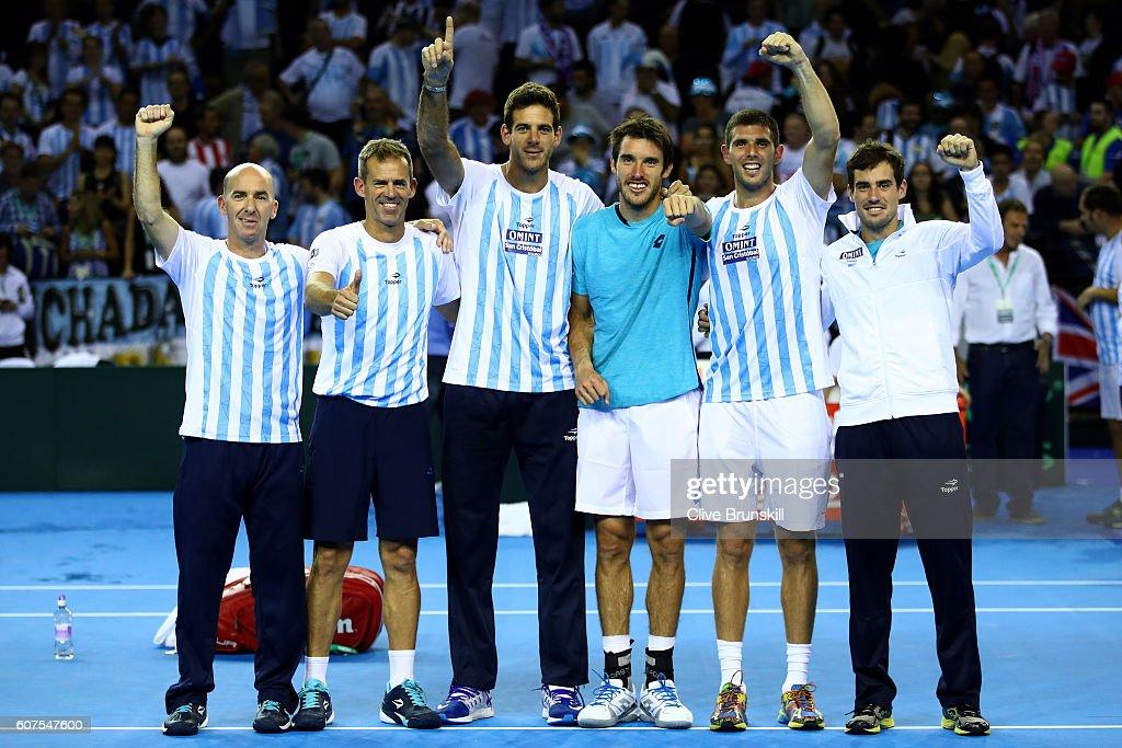 Great Britain v Argentina: Davis Cup Semi Final 2016 - Day Three : News Photo