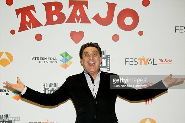 Mariano Pena attends 'Alli Abajo' photocall during FesTVal Murcia 2015 on March 25 2015 in Murcia Spain
