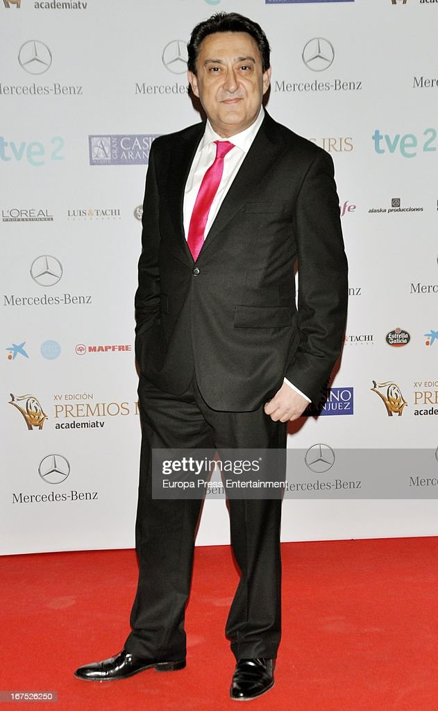 Mariano Pena attends Iris Awards 2013 on April 25, 2013 in Madrid, Spain.