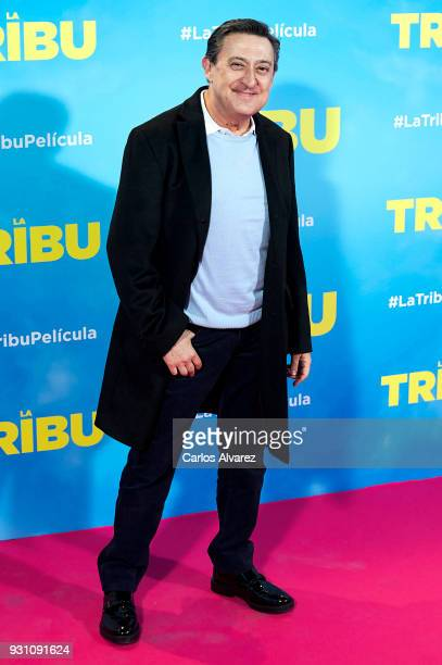 Mariano Pena attends 'La Tribu' premiere at the Capitol cinema on March 12 2018 in Madrid Spain