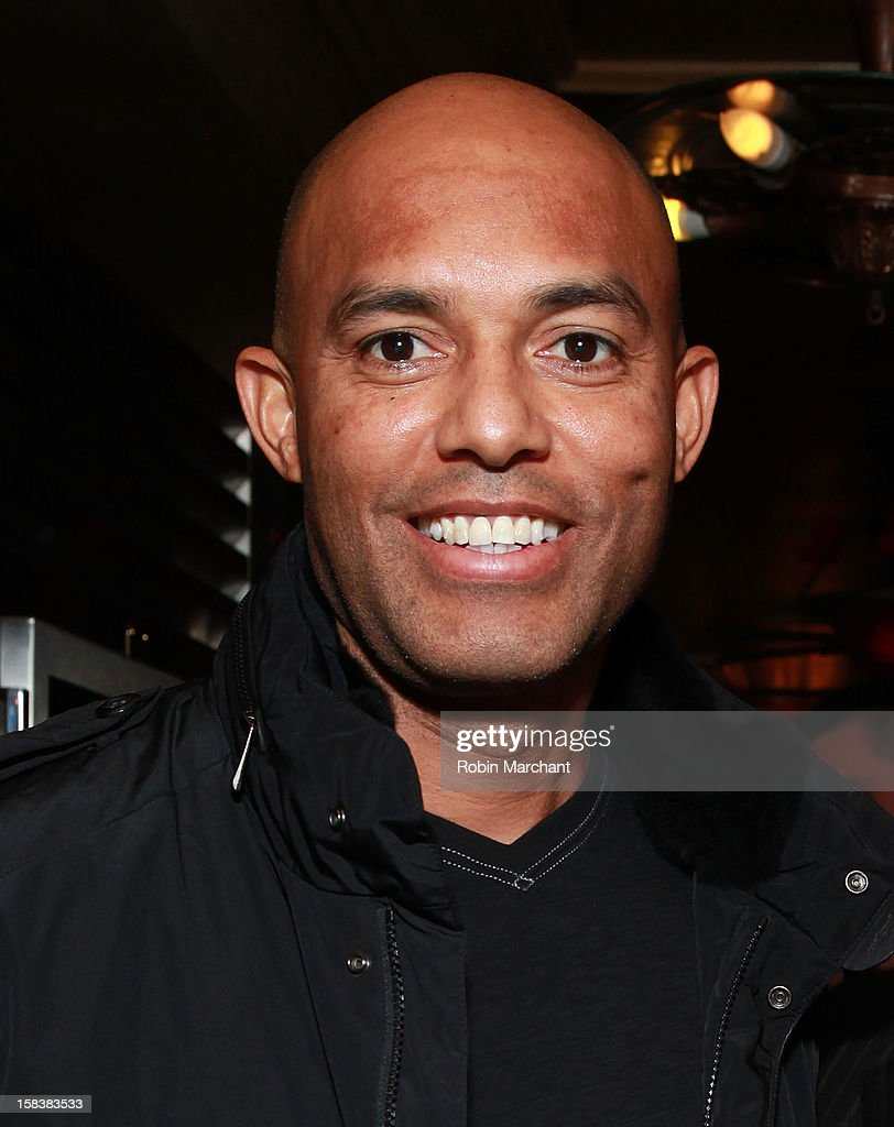 Mariano Rivera attends Elvis Duran Morning Show Holiday Party at Carmine's on December 14, 2012 in New York City.