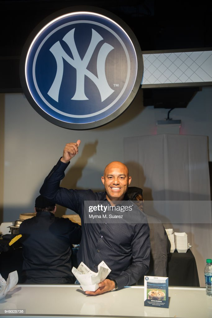 Mariano Rivera attends the first annual Major League Baseball FoodFest on April 20, 2018 in New York City.
