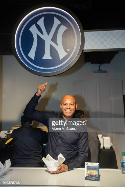 Mariano Rivera attends the first annual Major League Baseball FoodFest on April 20 2018 in New York City