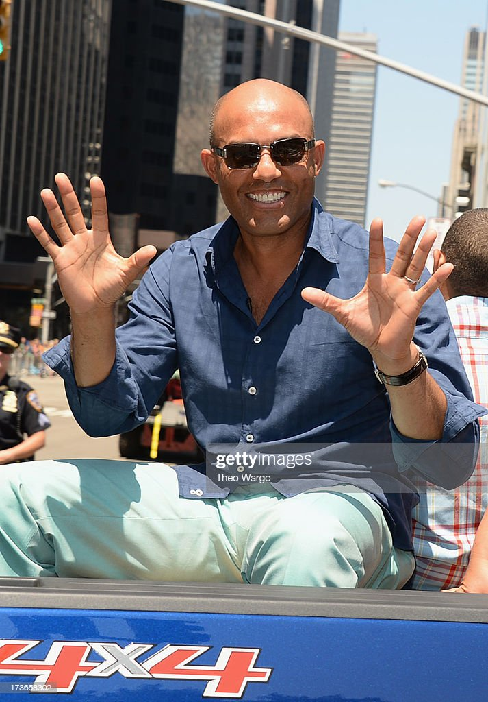 Mariano Rivera attends the MLB All-Star Game Red Carpet Show Presented by Chevrolet on July 16, 2013 in New York City.