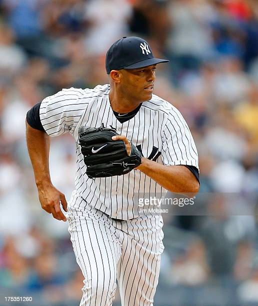 fa4e59a445bbd Mariano Rivera of the New York Yankees in action against the Tampa Bay Rays  at Yankee