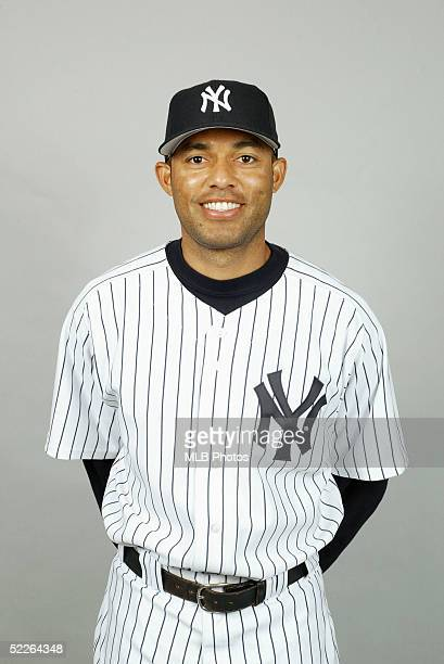 Mariano Rivera of the New York Yankees poses for a portrait during photo day at Legends Field on February 25 2005 in Tampa Florida