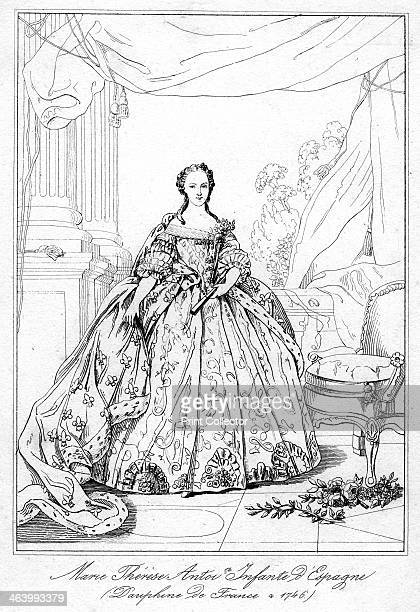 MariaTeresa of Spain daughter of King Philip V of Spain Infanta Maria Teresa became the Dauphine on her marriage to LouisFerdinand Dauphin of France...