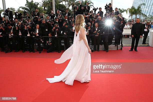MariaVictoria Dragus attends the Award Ceremony at the annual 69th Cannes Film Festival at Palais des Festivals on May 22 2016 in Cannes France
