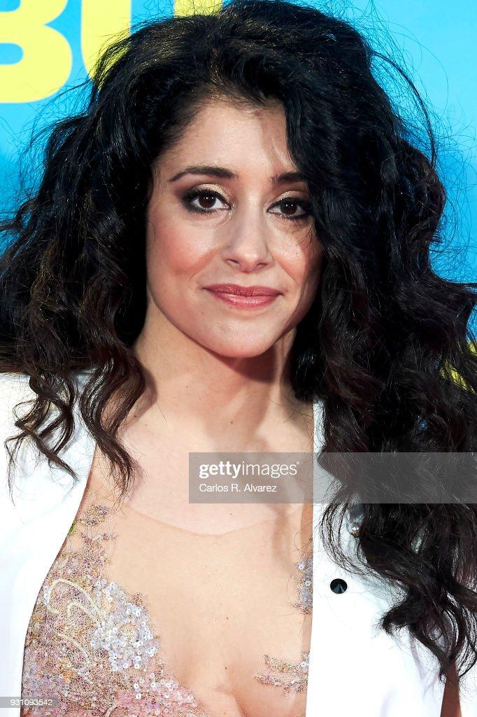 Maribel del Pino attends 'La Tribu' premiere at the Capitol cinema on March 12, 2018 in Madrid, Spain.