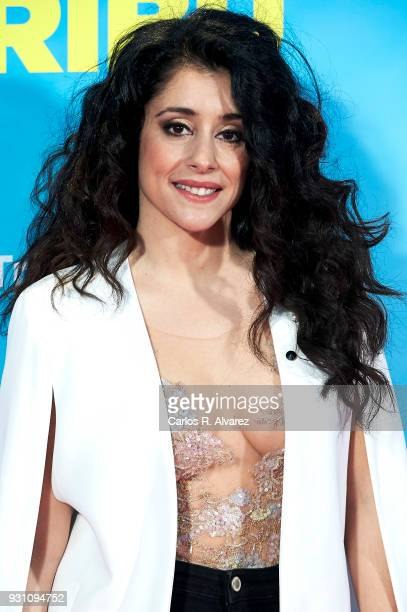 Maribel del Pino attends 'La Tribu' premiere at the Capitol cinema on March 12 2018 in Madrid Spain