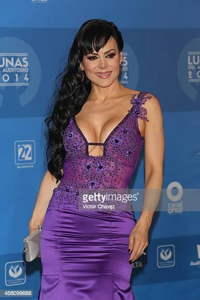 Maribel Guardia attends Lunas Del Auditorio Nacional 2014 at Auditorio Nacional on October 29 2014 in Mexico City Mexico