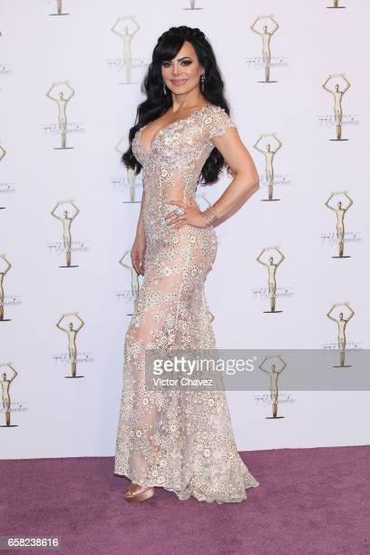 Maribel Guardia attends Premios Tv y Novelas 2017 at Televisa San Angel on March 26 2017 in Mexico City Mexico