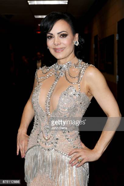 Maribel Guardia attends The 18th Annual Latin Grammy Awards at MGM Grand Garden Arena on November 16 2017 in Las Vegas Nevada