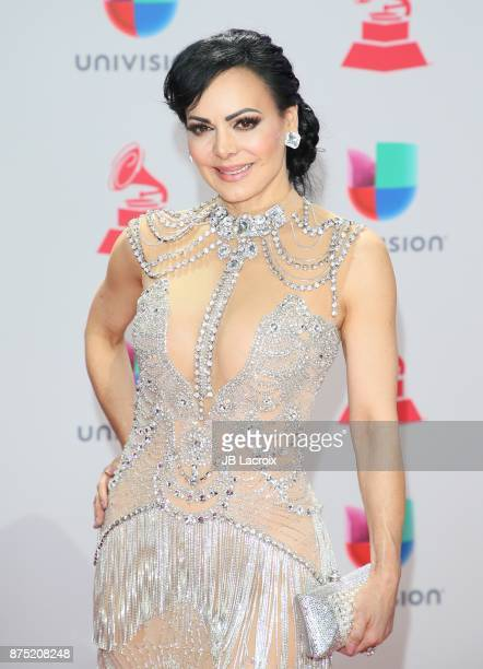 Maribel Guardia attends the 18th Annual Latin Grammy Awards on November 16 2017 in Las Vegas Nevada