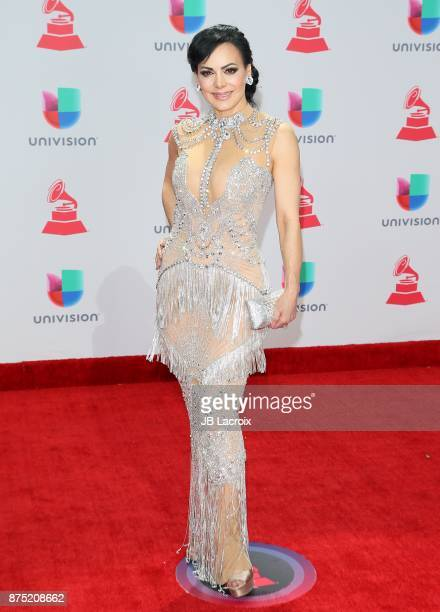 Maribel Guardia attends the 18th Annual Latin Grammy Awards on November 16 2017 in Las Vegas Nevada