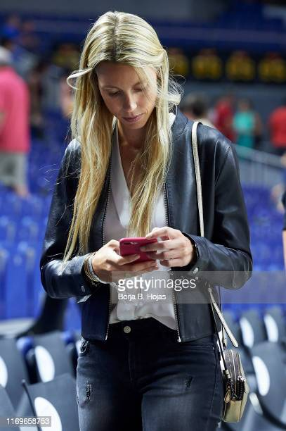 Maribel Nadal after a friendly match between Spain and the Dominican Republic at Wizink Center on August 22 2019 in Madrid Spain