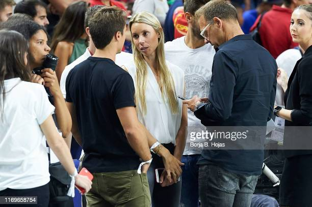 Maribel Nadal before friendly match between Spain and the Dominican Republic at Wizink Center on August 22, 2019 in Madrid, Spain.