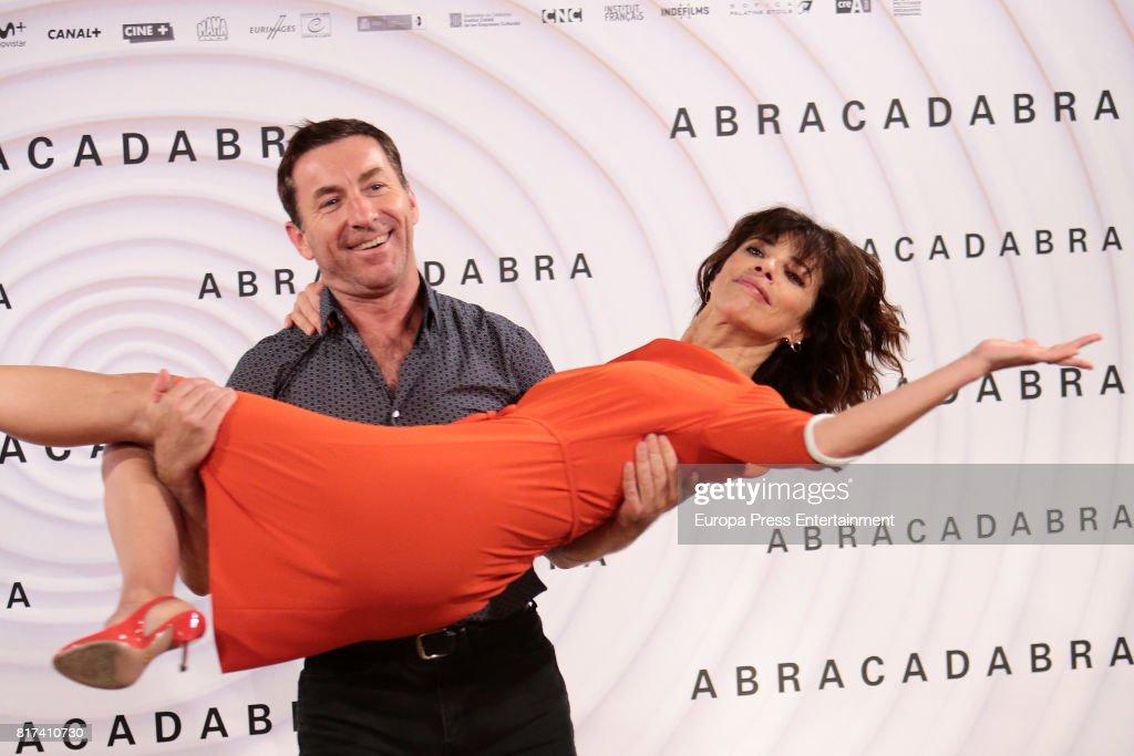 Maribel Verdu and Antonio de la Torre attend 'Abracadabra' Madrid photocall on July 17, 2017 in Madrid, Spain.