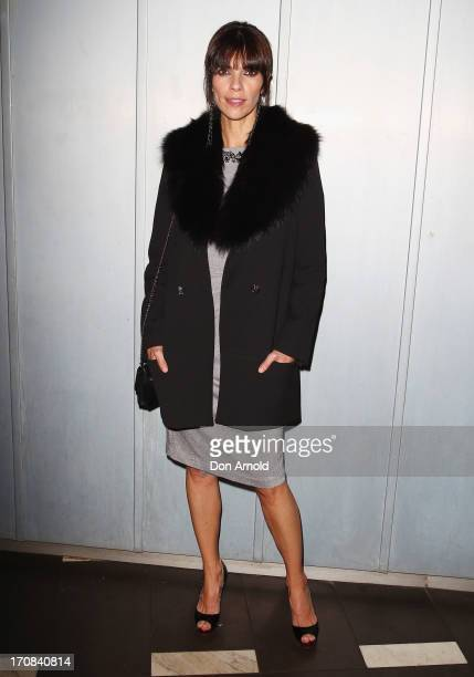 Maribel Verdu arrives at the Sydney premiere of A Gun In Each Hand on opening night of the Spanish Film Festival at Palace Verona on June 19 2013 in...
