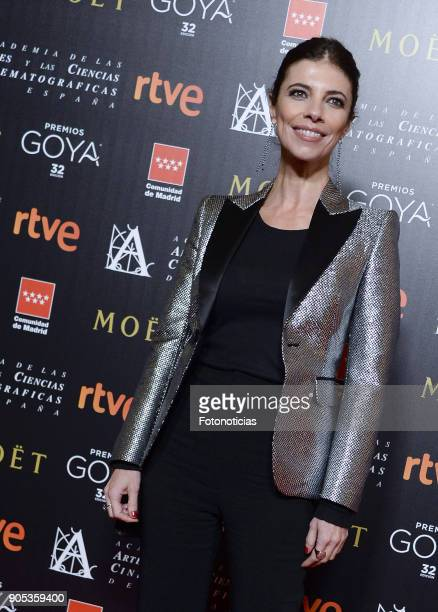 Maribel Verdu attends the 32nd Goya Awards Candidates Meeting at the Real Casa de Correos on January 15 2018 in Madrid Spain