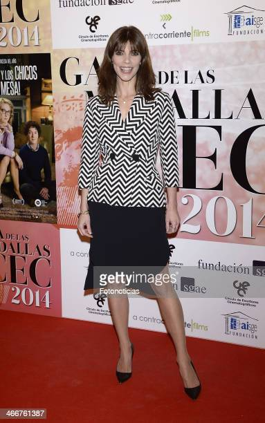 Maribel Verdu attends the 'CEC' medals 2014 ceremony at the Palafox cinema on February 3 2014 in Madrid Spain
