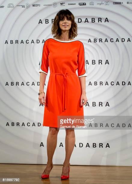 Maribel Verdu during 'Abracadabra' Madrid Photocall on July 17 2017 in Madrid Spain