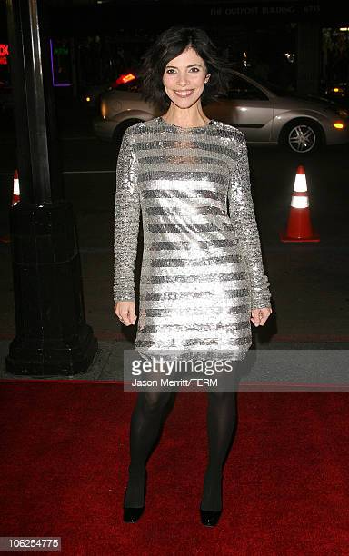 Maribel Verdu during Pan's Labyrinth Los Angeles Screening Arrivals at Egyptian Theater in Hollywood California United States